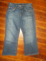 Lucky Brand Easy Rider Crop Jeans Women's Size 2 / 26 BUTTON FLY