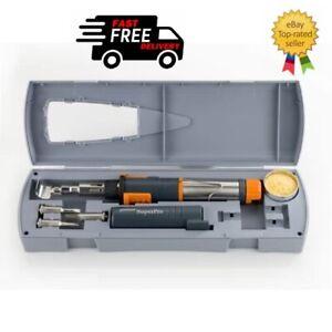 Portasol Super Pro Gas Soldering Iron Kit 125  - NEW - FREE DELIVERY -  KFSLK1