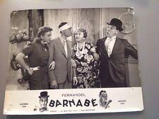 "FERNANDEL - PHOTO D'EXPLOITATION "" BARNABÉ "" format 23x29cm"