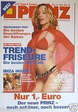 "Kylie Minogue ""2002 Prinz German Magazine"" Poster-Sexy Red Riding Hood In Bikini"