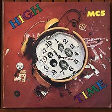 MC5 HIGH TIME VINYL RECORD ORIGINAL AUSSIE PRESS PSYCH HARD ROCK RARE STOOGES