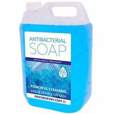 5Ltr Antibacterial Liquid Hand Wash Soap  for Dispensers Professional Washroom