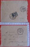 Busta da lettera - 1909 - al tenente medico -9902