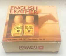 English Leather Set 1.7 oz After Shave, Cologne pl read below