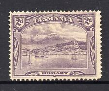 New listing Tasmania: 2d Pictorial Sg 246? Perf 12.5 Mh