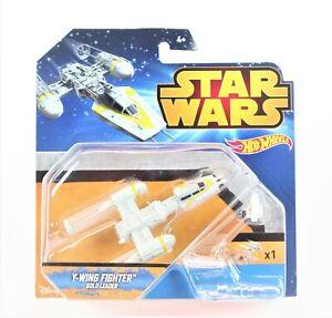 Star Wars Y-Wing Gold Leader spaceship diecast toy Mattel Hot Wheels CGW59