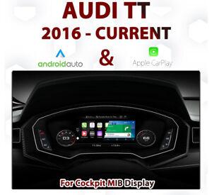 AUDI TT 2015 - Current : Apple CarPlay & Android Auto Integration