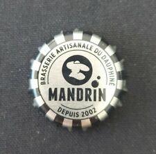 New Capsule Biere  MANDRIN Brasserie  du Dauphiné