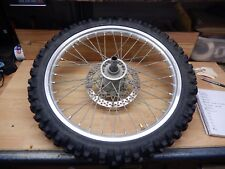 2005 Yamaha YZ250F front excel rim wheel with good tire # 272