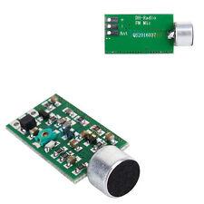 FM Transmitter Module Board 88MHZ-108MHZ Mini BugWiretap Dictagraph InterceptorL