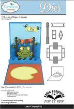 Elizabeth Crafts Designs Cutting Die Set ~ LOTS OF POPS  ~3D Card Making  ~778