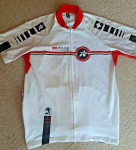 ASSOS EQUIPE Cycling Jersey Top Shirt - Full Zip - XLG - very good condition