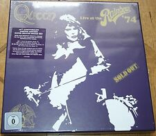 Queen Live At The Rainbow Limited Super Deluxe Boxset 2 CD`s, DVD, Blu-ray Neu O