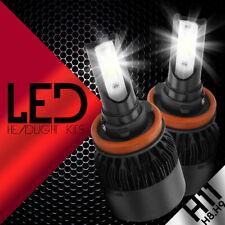 H11 Samsung LED 57 SMD Super White 6000K Headlight Xenon 2x Light Bulbs Low Beam