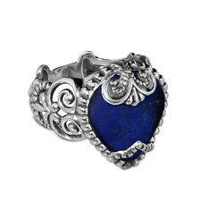 Carolyn Pollack Sincerely Fabulous Lapis Bold Ring 9