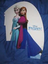 "FROZEN / DISNEY  Toys R Us Exclusive Sign ~End Cap Display (20"" Tall) ANNA/ELSA"