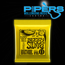 ERNIE BALL 11-54 BEEFY SLINKY YELLOW 2627 11/54 ELECTRIC GUITAR STRINGS SET