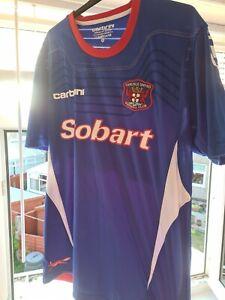 carlisle united home shirt 2011/2012 Carbrini Men's XL