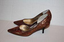 Nina New York Formal Dressy Women Glittery High Heel Shoes Size 6M