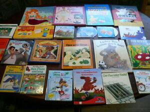 Konvolut Buchpaket Kinderbücher Bilderbücher Geschichten Hörbuch CD   (a248)