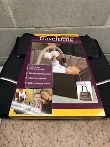 Infantino Traveltime Travel Bed Baby Bed Compact