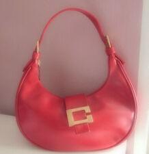 e2a3fe3e3e02e Rote Schultertasche - Marke Carla Comi Made in Italy - VINTAGE!!!! 70er