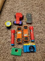 VTG Early 90s Lot of 9 Mcdonalds Search Team / Sound Effects Machine Cameras Mic