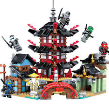 2019 Ninja Temple 737+pcs DIY Building Block Sets educational Toys for Children
