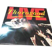 George Thorogood 'Live' Vinyl LP EX-/EX- Very Nice Copy!