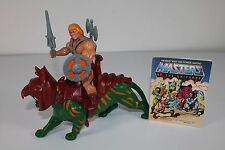 He Man & Battle Cat -1982/Malaysia- (Masters of the Universe) 100% komplett