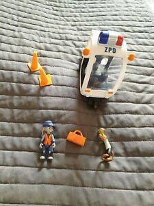 Disney Zootopia Tomy toys Judy Hopps Meter Maid Vehicle /cones Duke Weaslton