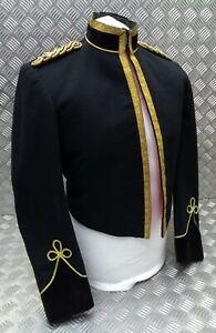 Genuine Vintage RTR Royal Tank Regiment Officers Braided Mess Jacket EBYT408
