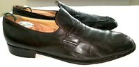 BALLY SWITZERLAND Mens Dress Shoes Brown Leather Slip On Loafer Size 13D