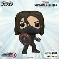 Funko Pop! Marvel The Winter Soldier #838 Year of the Shield Amazon Presale