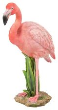 Real Life Flamingo in Reeds Highly Detailed Home or Garden Decoration