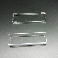 Boîte De Rangement Pour Bijoux Transparente En Plastique Rectangulaire FE