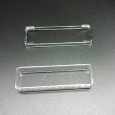 Rectangular Plastic Clear Storage Box Jewelry tool Container Case OrganizerSC