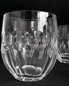4 x Rare Waterford Crystal Currachmore Tumber/Whisky Glasses