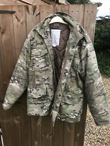 M65 Jacket Army Military Combat US Field Quilted Liner Vintage Multi Camo MTP