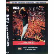 INXS Live Baby Live(DVD,All,Sealed,New,Keep Case)Michael Hutchence Kick Wildlife