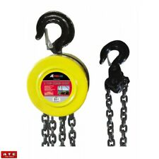 2 TON CHAIN PULLER BLOCK FALL CHAIN HOIST 10 FT LIFTING CHAIN W/ HOOK HAND TOOLS