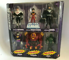 Mattel DC Super Heroes Justice League Unlimited JLU Justice Lords 6 Pack EXCLSVE