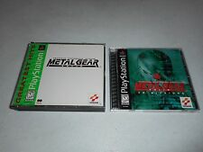 Metal Gear Solid 1 & VR Missions Rare Complete (Sony PlayStation 1) PS1 Games