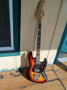 Vintage Japan Lawsuit Jazz Bass