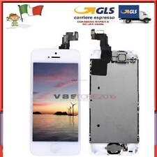 DISPLAY SCHERMO VETRO TOUCH SCREEN ORIGINALE LCD IPHONE 5S +Home Button Camera