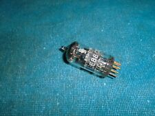 SIEMENS E88CC GOLD PIN AUDIO PREAMPLIFIER TUBE - TESTS NEW and BALANCED
