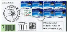 31 dic 2014 Assicurata € 5,80 Satellite San Marco Viaggiata l'Ultimo Space Cover