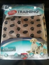 """New 2pk Simple Solutions Washable Dog Training And Travel Pad Size XL 30""""x32"""""""