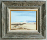 Original Vintage Oil Painting Antique Mid-Century Southwestern Desert Landscape