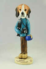Photographer Beagle -See Interchangeable Breeds & Bodies @ Ebay Store
